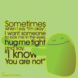 Hug Me! - Best Friend Quotes and Sayings