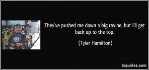 Tyler Hamilton Quote