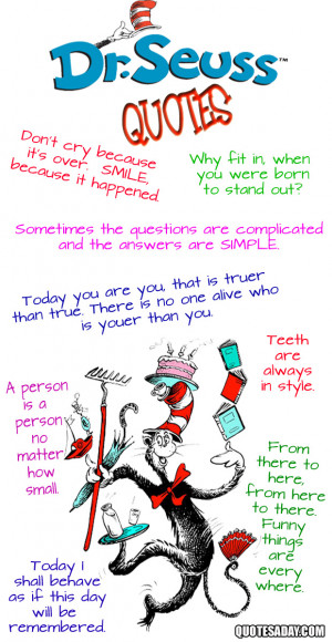 Inspirational Doctor Seuss Quotes