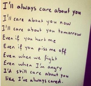 ll always care