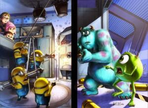 Minions vs Monsters
