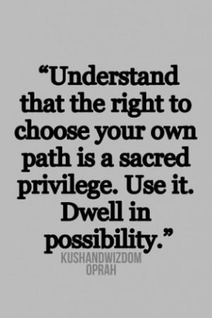 Oprah Winfrey Quotes On Leadership