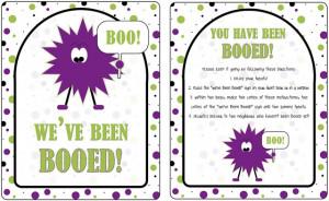16 Versions} You've Been BOOed! Fun Treats for the Neighborhood!