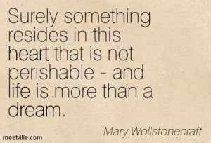 Quotes of Mary Wollstonecraft About mind, feminism, beauty, women ...
