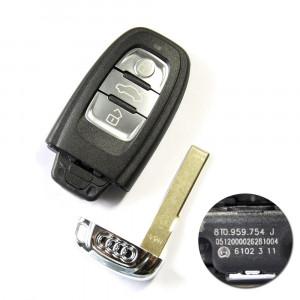 Buttons Smart Key 315MHz 8T0 959 754 J for Audi A4L