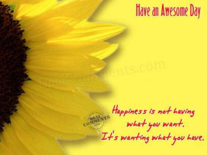 have an awesome day graphic