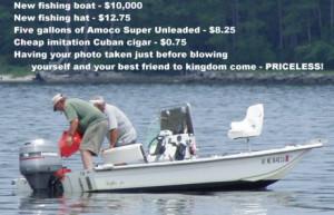 Funny/odd/ironic fishing pics