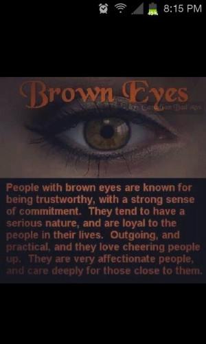 Brown eyed girlsss
