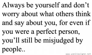 forums: [url=http://www.quotes99.com/always-be-yourself-and-dont-worry ...