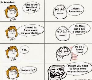 Funny Jokes on Student & Teacher For Facebook & Whatsapp