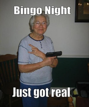 Bingo Night Just Got Real