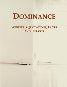 Details about Dominance Webster's Quotations, Facts and Phrases Icon ...