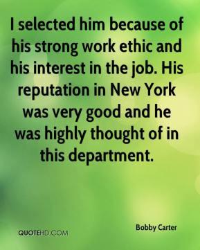Ethic Quotes