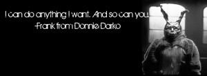 Donnie Darko Frank Quotes