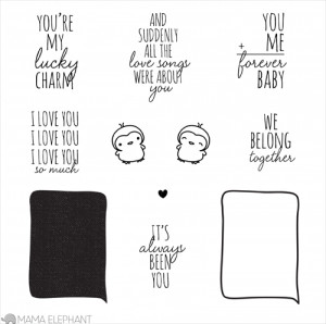 ... their design team to feature one of the new stamp sets, Love Quotes