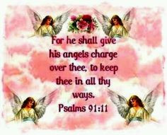 Guardian Angels Quotes Bible Bible quote on angels