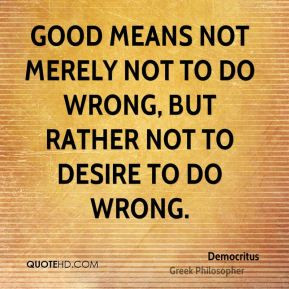 Democritus Inspirational Quotes