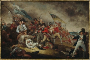 The Death of General Warren at the Battle of Bunker's Hill, June 17 ...