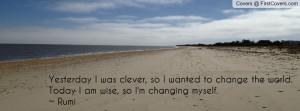 Rumi Quotes Facebook Covers