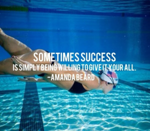 Racing Quotes For Swimming Quotesgram
