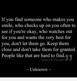 Cherish those deserve your love.   Quotes & Thoughts