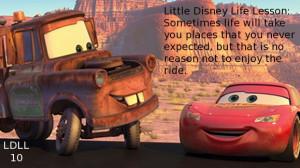 Cars Little Disney Life Lesson