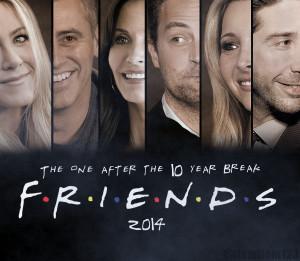 Friends FRIENDS 2014 REUNION POSTER