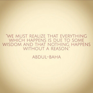 Bahai quote