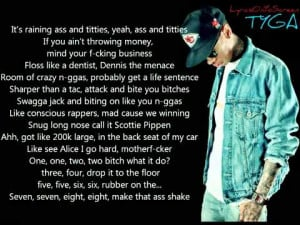 Tyga Lap Dance LYRICS ON SCREEN + Ringtone Download