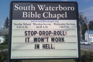 Funny Church Signs Quotes