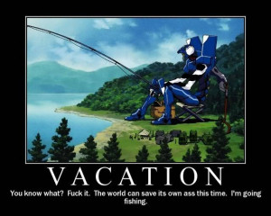 Vacation - Anime Motivational Posters Picture