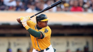 Yoenis Cespedes of Oakland A's 2nd yr player