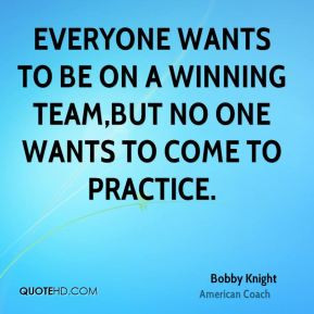 Bobby Knight Humor Quotes