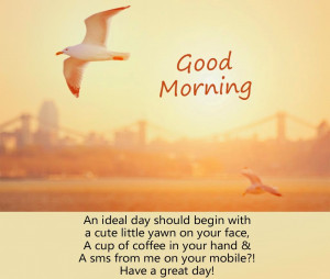 Good Morning Quotes SMS For Her With Images