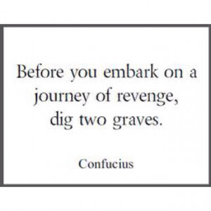 Confucius on Revenge