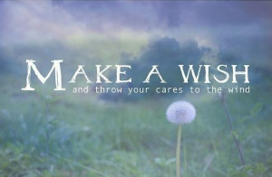 care, cares, dandelium, quote, quotes, text, texts, wind, wish, wishes