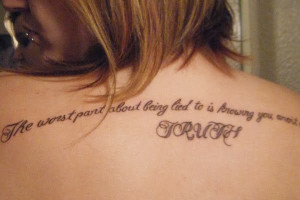 ... Quote Tattoos for Girls | Cute Quote Tattoos for Girls | Country Girl