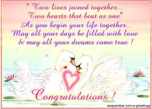 Wish You Happy Marriage Life....