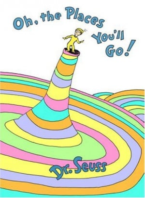"Here is the complete text of the book, ""Oh, the Places You'll Go ..."