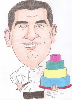 Cartoon Buddy Valastro...