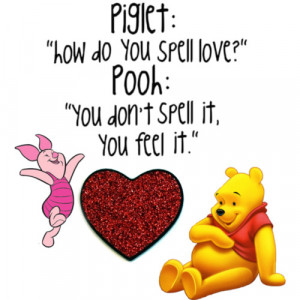 winnie the pooh love - Polyvore