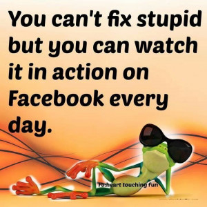 Can't fix #Stupid
