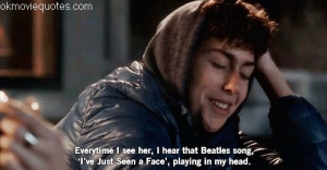 lily collins,beatles,logan lerman,nat wolff,love quotes