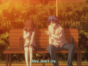 think it would be CLANNAD. Even though it was funny. IT would get ...