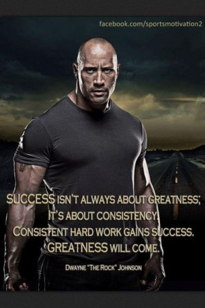 greatness it s about consistency consistent hard work gains success ...