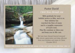 pastor appreciation ideas
