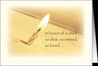 Honoring in Remembrance on Birthday, Child Death card - Product ...