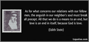 More Edith Stein Quotes