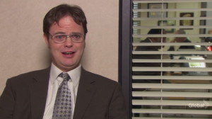 Dwight Schrute Dwight in Dinner Party