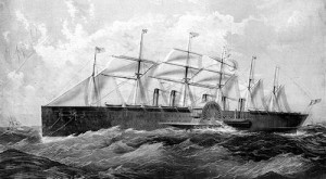 ... steam ship designed by isambard kingdom brunel and built by j scott